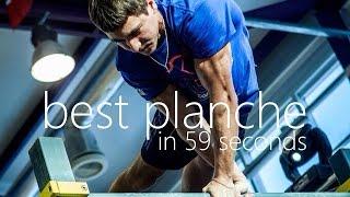 Best Planche in 59 Seconds | Dmitry Kuznetsov & Artem Morozov