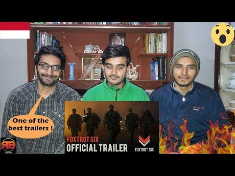 Foreigner Reacts To: FOXTROT SIX - Official Trailer