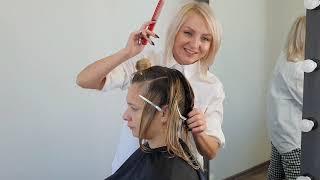 Текстурный боб Стрижка на волосы средней длины Модная женская стрижка 2020