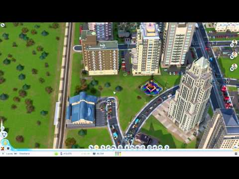 Sim City Playthrough - Part 20 - Train Station and Ferry Terminal