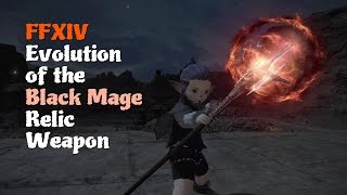 FFXIV Evolution of the Black Mage Relic Weapon [Feat. Ul'dah Night Theme (Sultana Dreaming)]