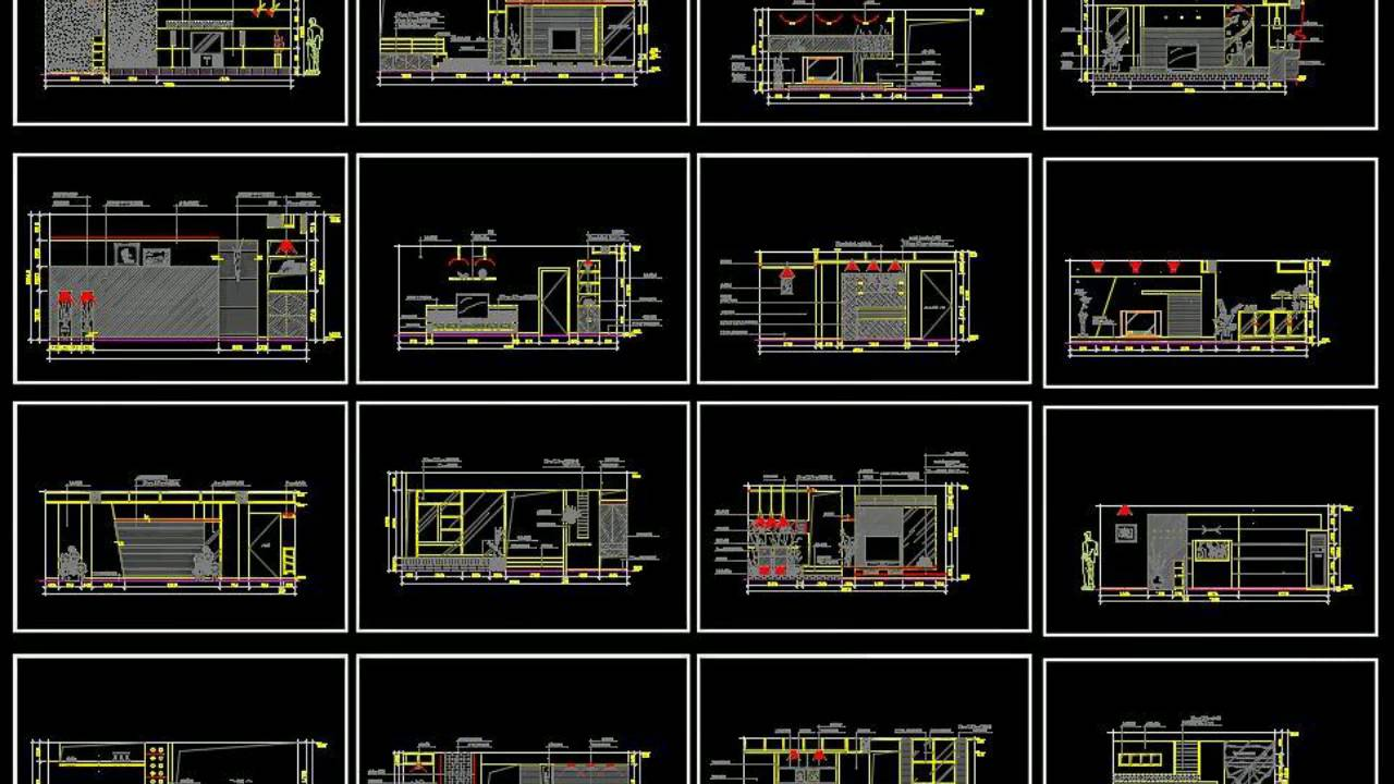 free architecture autocad drawings download youtube