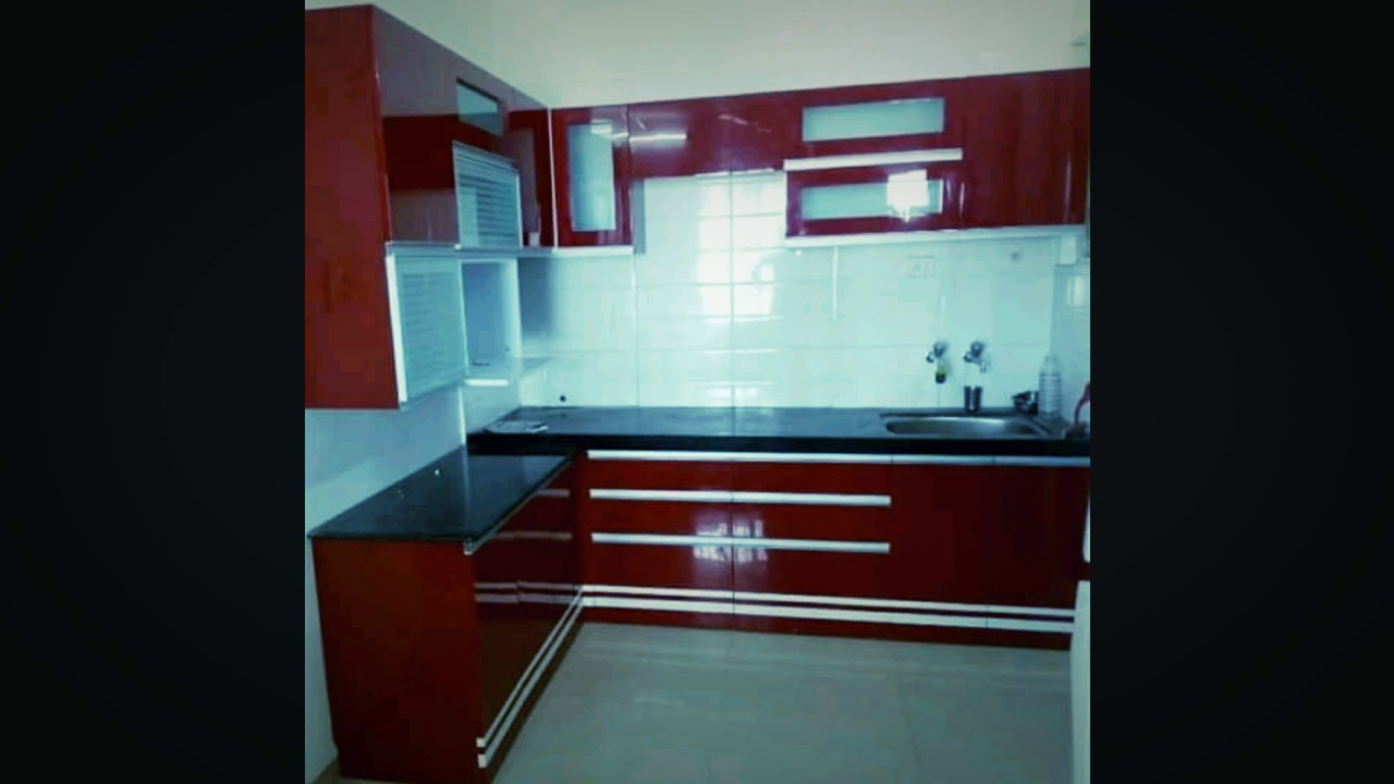 This low budget Modular kitchen made by us... - YouTube