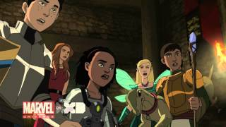 """""""Marvel's Ultimate Spider-Man: Web-Warriors"""" Halloween Special - Clip 2"""
