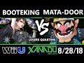 S@X 265 Smash 4 -  BootEKing (Bayonetta) Vs.  Mata-Door (Wario) Wii U Losers Quarters
