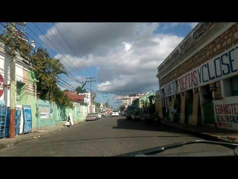 La Romana Avenida Santa Rosa, Calle Altagracia, y Calle Restauración