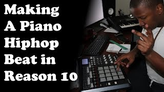 Making A Piano Hiphop Beat in Reason 10   Title: Widor