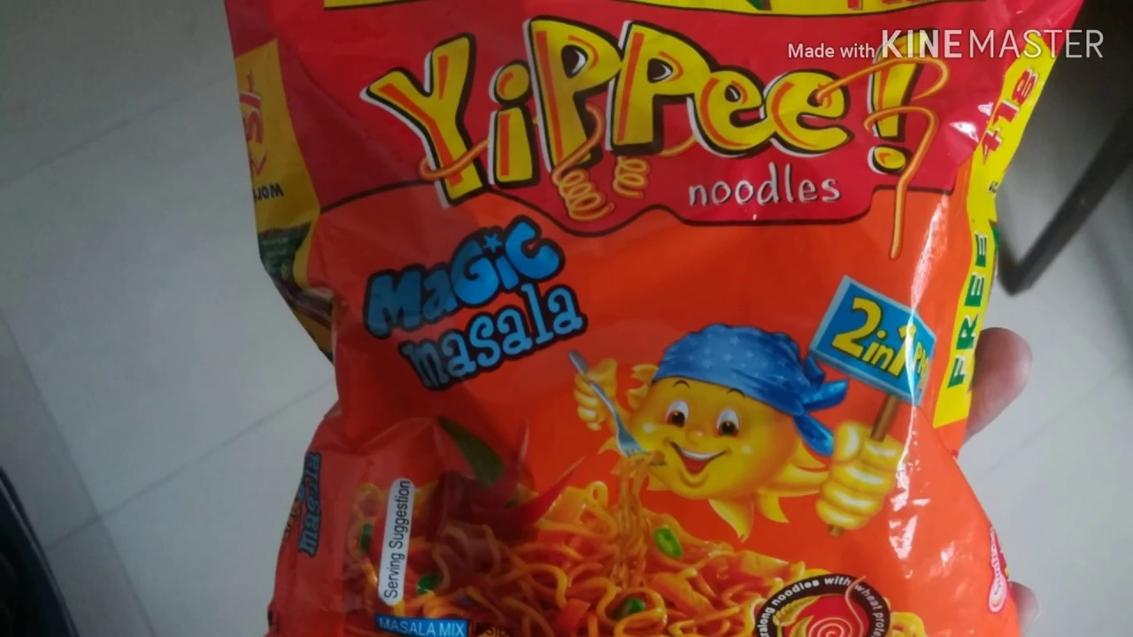 Yippee Noodles Recipe in Tamil - How to make Yippee ...