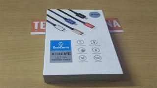 GeekCases Xtreme Ultra Rugged cable Unboxing