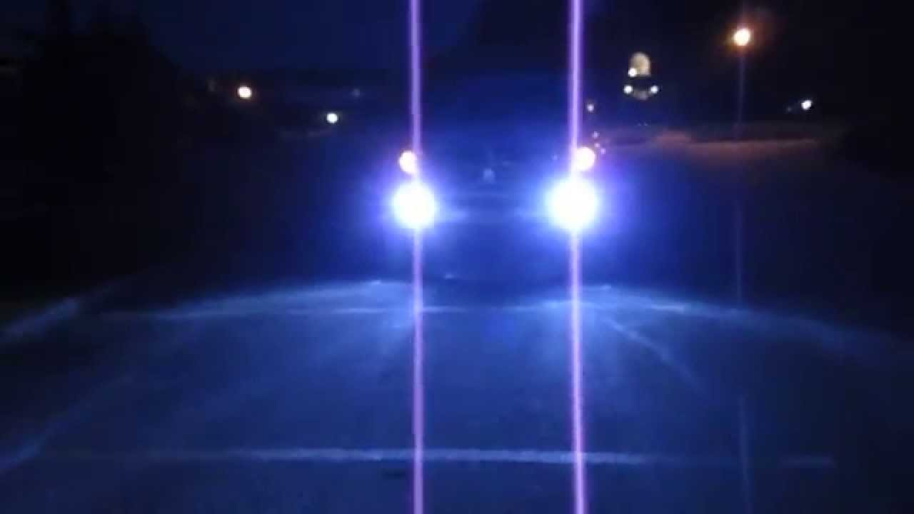 6000K HID FOG LIGHTS - YouTube