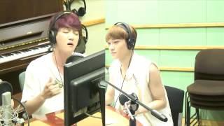130626 Sukira - Baekhyun & Chen 빨래 Live