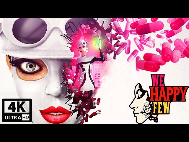 We Happy Few: Sally's Story All Cutscenes (Game Movie) 4K UHD 60FPS
