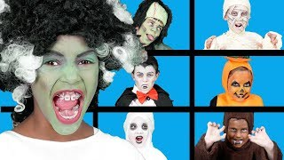 Spooky Finger Family | Halloween Videos | Spooky Songs for Kids