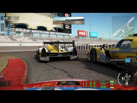 Project CARS 2 AM2 SERIES LMP2 TEXAS MOTOR SPEEDWAY GP 2019 04 22