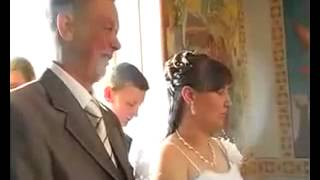 Невесту на венчании обидел жених! wedding.