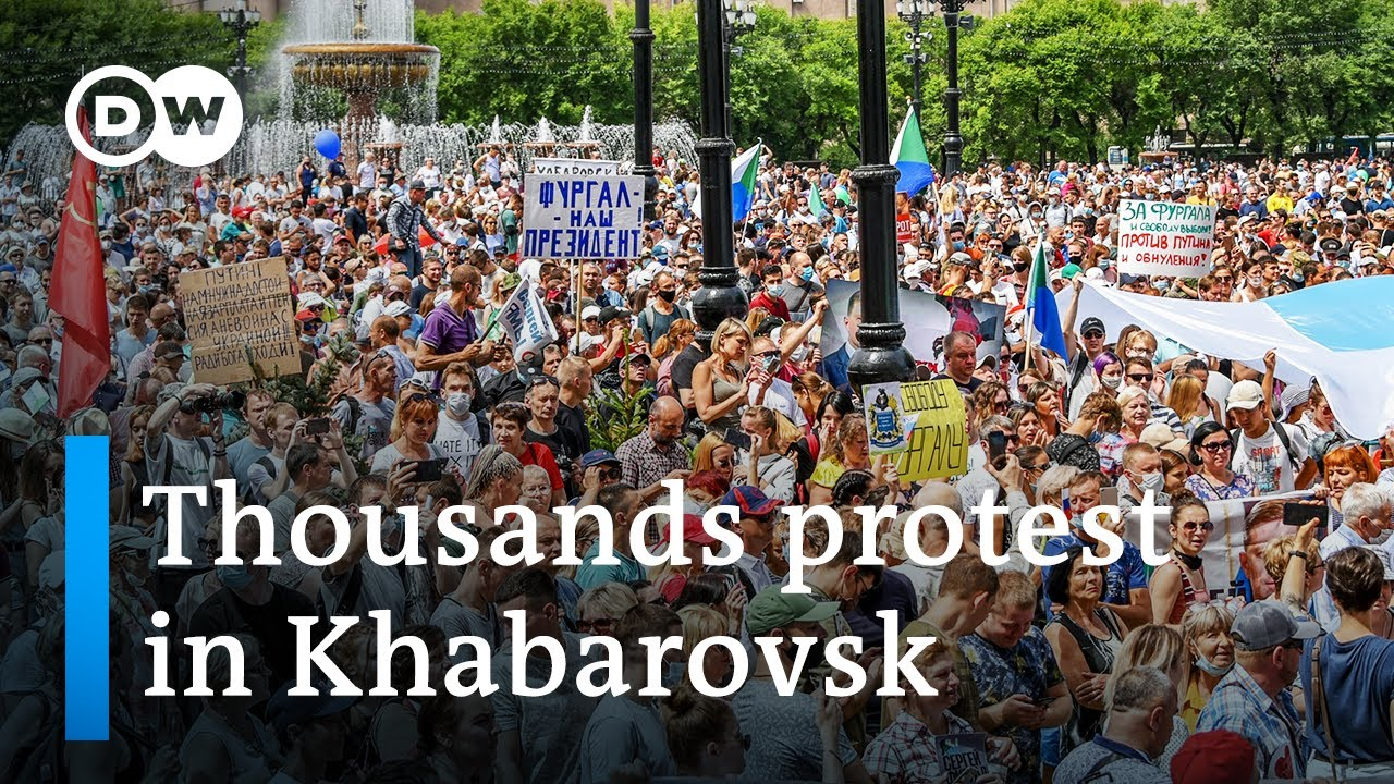 Protests Swell Across Russia Calling For The Release Of Kremlin ...