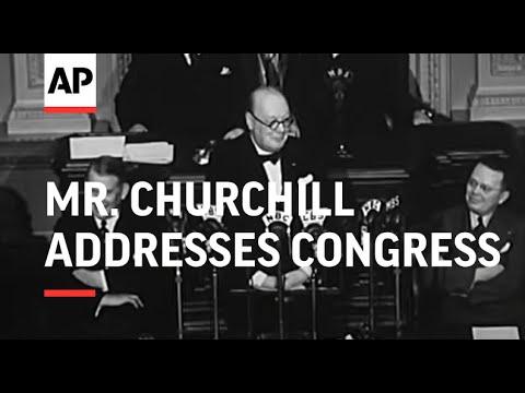 Mr Churchill Addresses Congress - SOUND