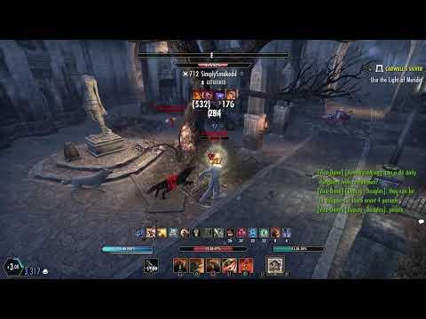 The Elder Scrolls Online: New Blackwood WW Build (Low health build) |