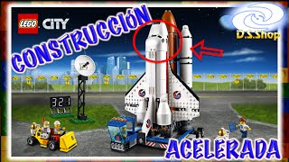 LEGO City let's build Spaceport Building Kit Speed Build