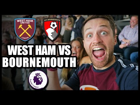WEST HAM vs BOURNEMOUTH - Premier League 2016/17