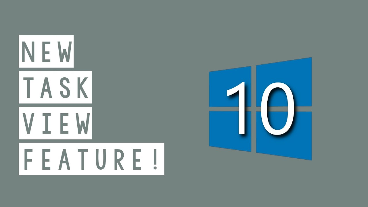 how to show task view buttons on windows 10
