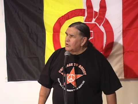 Clyde Bellecourt speaks at the 2009 AIM Fall Conference (pt 3 of 6)