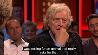 Video Rutger Hauer on De wereld draait door September 18 2013 with English Subtitles download MP3, 3GP, MP4, WEBM, AVI, FLV Oktober 2017