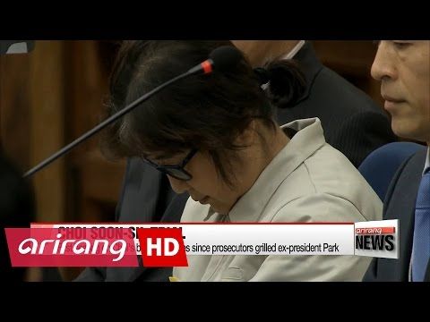 First hearing on Choi Soon-sil's bribery charges since prosecutors grilled ex-president Park