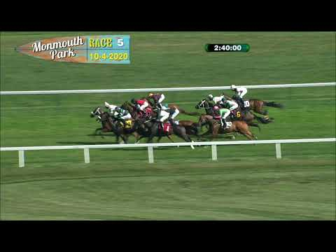 video thumbnail for MONMOUTH PARK 10-04-20 RACE 5