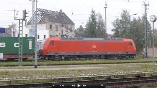 Germany: Trains at Stendal Bahnhof, 21Sep14