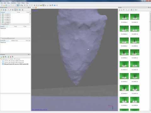 Creating Artifact Models in Agisoft Photoscan Part 2