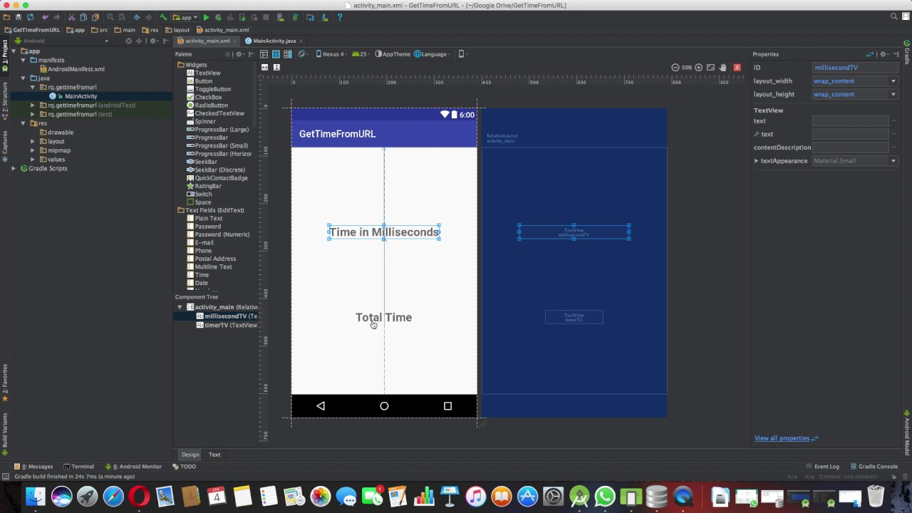 How to Get Length or Total Time Duration of a Music File from URL - Android  Studio Tutorial