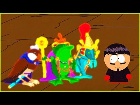 Frog King And Sparrow Prince Boss Fight | South Park The Stick Of Truth Game
