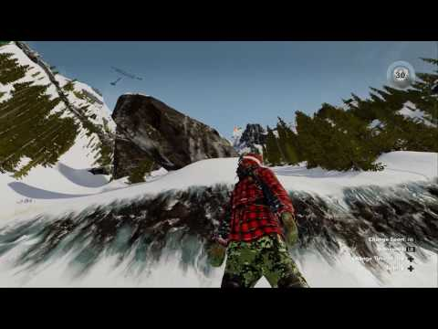 Steep - Falling down the mountains - Kissing Snow