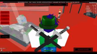 ROBLOX: Sword Fighting Tournament {Going in the Map glitch}