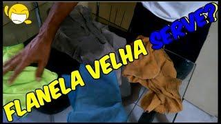 Flanela Velha Serve?🤔#127SUPERJATO