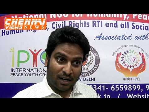Peace India NGO Branch Inauguration in Chennai