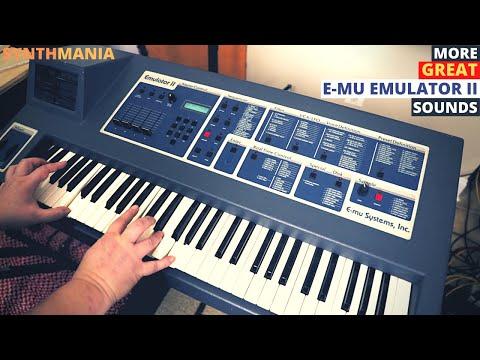 More GREAT E-mu Emulator II sounds