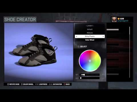 Nba 2k16 Air Jordan 7 Bordeaux