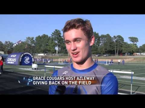 Grace Cougars give back on the field by hosting Azleway