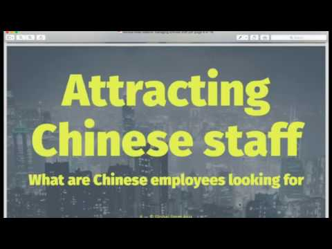 Hiring and Managing Chinese Staff with Monica Chao