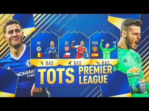 PREMIER LEAGUE TEAM OF THE SEASON!!! | PREDICCION TOTS | FIFA 17