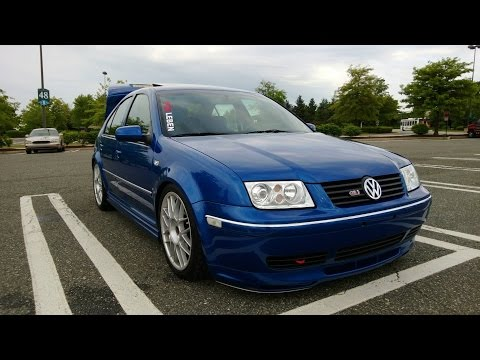 2005 VW Jetta GLI (MK4) Straight Pipe Sound Test!
