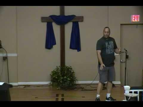 Robert Hofer ministering at Full Life Church June 19, 2016