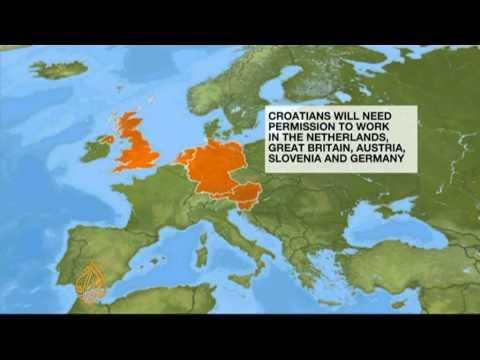 Croatians eye EU jobs ahead of joining bloc