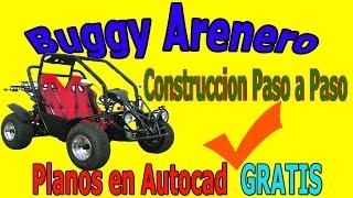 Construccion Construye tu Buggy Arenero planos  paso a paso descarga gratis