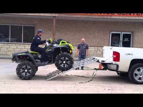 First Timer ATV Truck Loading
