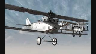 ROF(QMB) - Airco DH2  vs. DFWs
