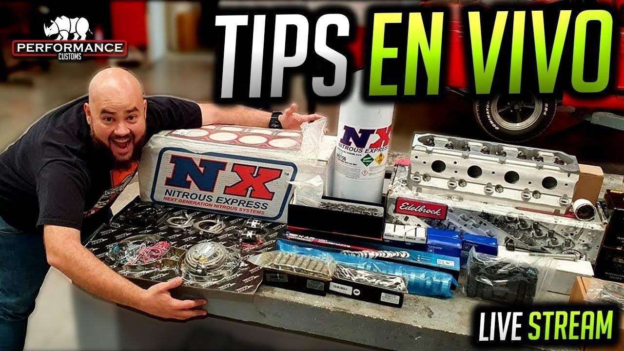 Tips de Fierros y lo que pregunten! ( EN VIVO ) Performance Customs  #LiveStream