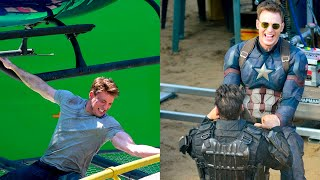 Chris Evans Most Insane Stunts without a Stunt Double | Chris Evans Performing Stunts Without Help